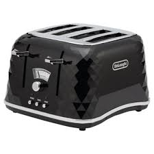 buy delonghi ctj4003 bk brillante designer 4 slice toaster black