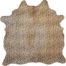 Leopard Cowhide Rug Leopard Print Cowhide Rug Rugs Pinterest