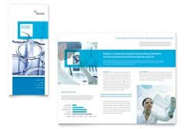 trifold brochure in word network administration tri fold brochure