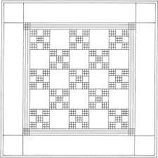 Quilt Block Patterns Coloring Pages Quilt Patterns Free Printable Quilt Block Coloring Pages