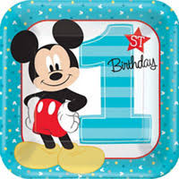 mickey mouse 1st birthday mickey mouse 1st birthday party supplies party city