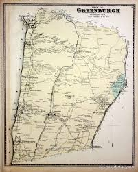 Warwick New York Map by Town Of Greenburgh Westchester Co N Y Antique Maps And Charts
