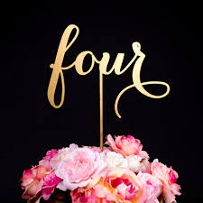 cake topper numbers wedding table numbers or cake toppers soirée collection 2389728