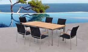ensemble table chaises table et 6 chaises jardin de qualité ensemble repas exterieur luxe