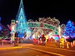 home page for la crosse rotary lights holiday display