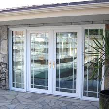 Patio Doors With Side Windows Fascinating French Door With Windows Windows Single Patio Door