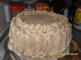 mocha cake just like goldilocks mocha cake cake and filipino food