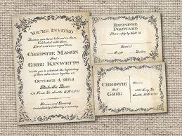 Vintage Wedding Invites Wedding Invitation Venue Wording Ziel Wedding