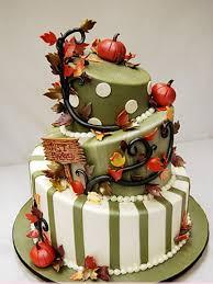 professional cakes autumn wedding cakes