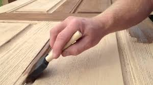 Can I Paint Laminate Flooring Refinishing A Fiberglass Entry Door Youtube