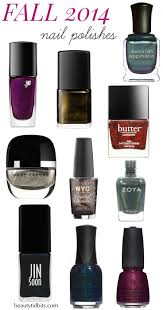 nail polish colors fall 2014