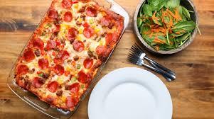 cuisiner une pizza voici comment cuisiner une pizza lasagne dans un même plat vous