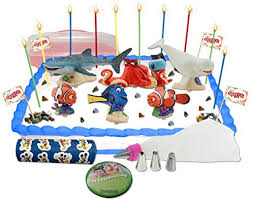 disney u0027s finding dory cake cupcake topper decorating kit in