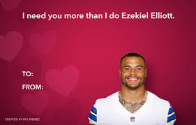 Valentine Card Meme - here s this year s batch of hilarious nfl themed valentine s day