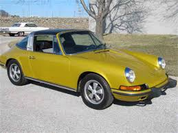 gold porsche convertible 1973 porsche 911 for sale classiccars com cc 1008701