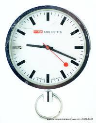 mondaine swiss railways pocket watch quartz parts or repair ronda
