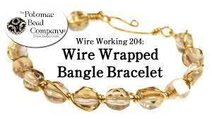 bracelet youtube images Make a wire wrapped bangle bracelet jpg