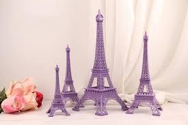 eiffel tower centerpiece ideas wedding table centerpieces purple eiffel tower model alloy