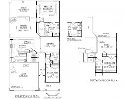 floor plan two storey residential building plans pdf bedroom house modern two storey