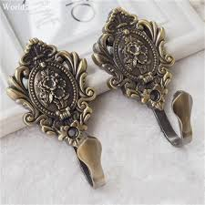 aliexpress com buy vintage rose metal alloy curtain tie back