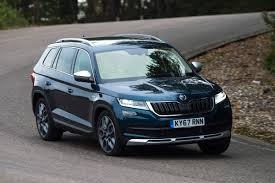 skoda kodiaq 2017 new skoda kodiaq scout 2017 review news techmasair