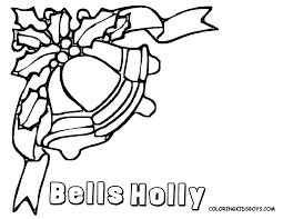 christmas bell coloring page getcoloringpages com