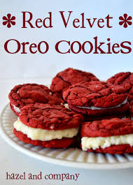 hazel and company red velvet oreo cookies
