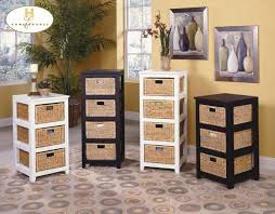Basket Drawers For Bathroom Attractive Basket Storage Drawers Bathroom Storage Basket Drawers