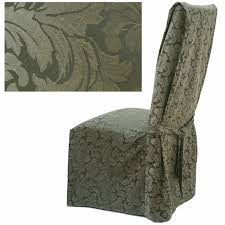damask chair covers damask olive dining chair cover