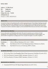 Sample Resume Format For Banking Sector 19952 Best Brainfood Images On Pinterest Resume Format Cv