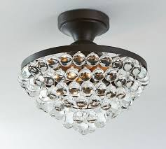 Pottery Barn Ceiling Light Callia Flushmount Pottery Barn