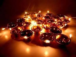 golden diya deepak series lights diwali home decoration series led