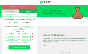 compare travel insurance images Gobear now in malaysia lets you compare credit cards travel jpg