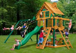 Lowes Swing Set Outdoor Remarkable Gorilla Swing Sets For Chic Kids Playground