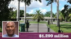 florida house o j simpson u0027s former miami home is for sale at nearly 1 3