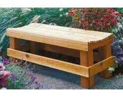 Outdoor Wooden Bench Plans To Build by 146 Best Garden Benches Images On Pinterest Log Benches Wood
