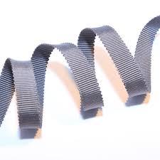 grossgrain ribbon 3 8 grey grosgrain ribbon 1 yard from corsetmakingsupplies