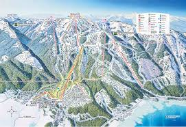Map Of Colorado Ski Resorts by Tamarack Ski Trail Map U2022 Mappery