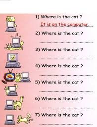 english year 4 kssr grammar prepositions worksheet documents