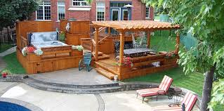 Define Backyard Gazebos And Pergolas Paradise Decks And Landscape Design