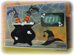 halloween card www scrappergrl blogspot com fun ideas pinterest