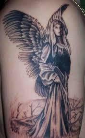de 17 bästa female guardian angel tattoo bilderna på pinterest