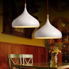 Decorative Pendant Light Fixtures Japanese Pendant Lights Solid Brief White Nordic Light Iron
