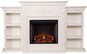 Electric Insert Fireplace Tennyson Electric Fireplace W Bookcases Best Electric