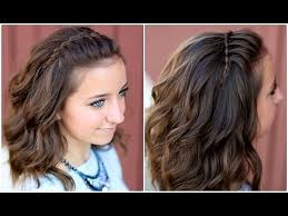 of the hairstyles images diy faux waterfall headband cute girls hairstyles youtube