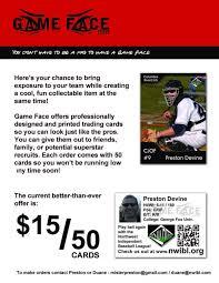 baseball card personal baseball card your own baseball card