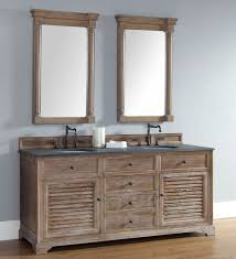 Distressed Bathroom Vanity by Abstron 72 Inch Double Sink Bathroom Vanity Distressed Driftwood
