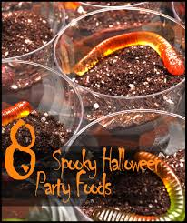 8 spooky halloween party food ideas