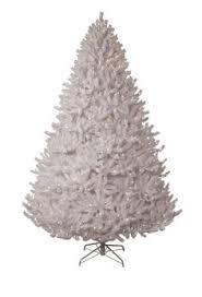 white tree pre lit white gold artificial
