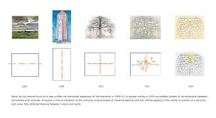 symbolism of a tree mondrian u0027s at a glance
